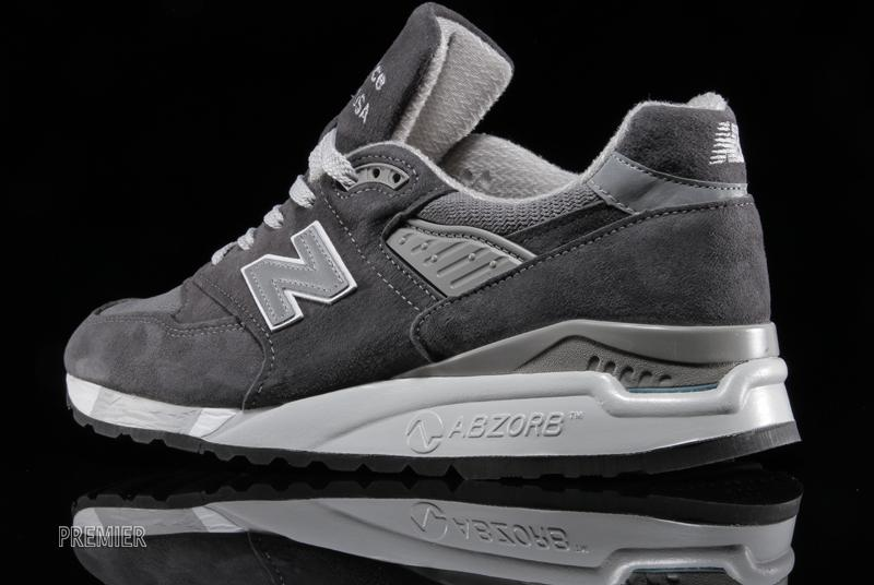 new balance 998 charcoal grey