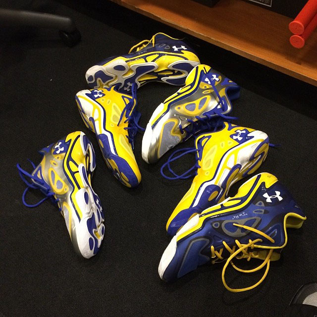 Kent Bazemore's Under Armour Anatomix Spawn Low PE Options