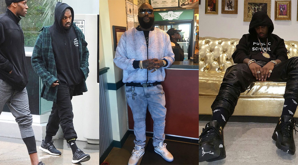 Celebrity Sneakers January 9, 2016