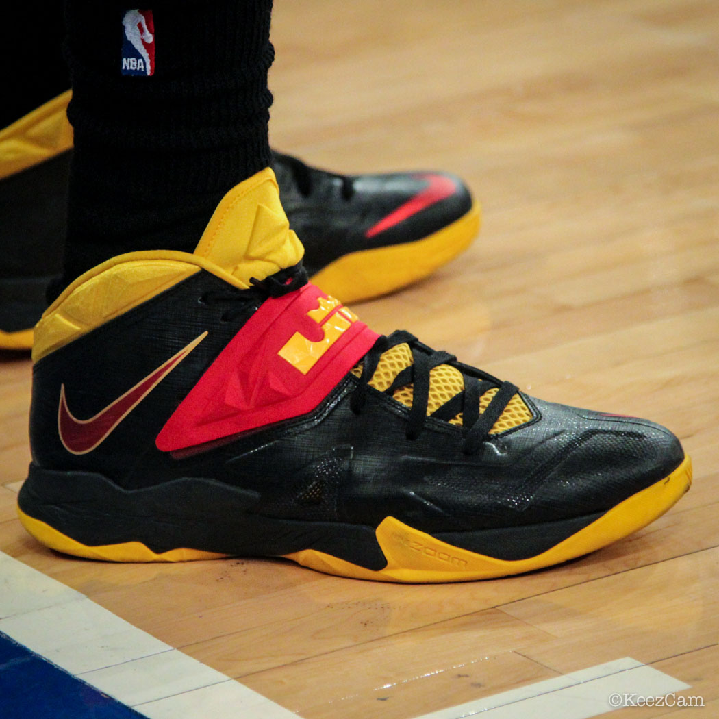 Tristan Thompson wearing Nike Zoom Soldier VII 7 PE
