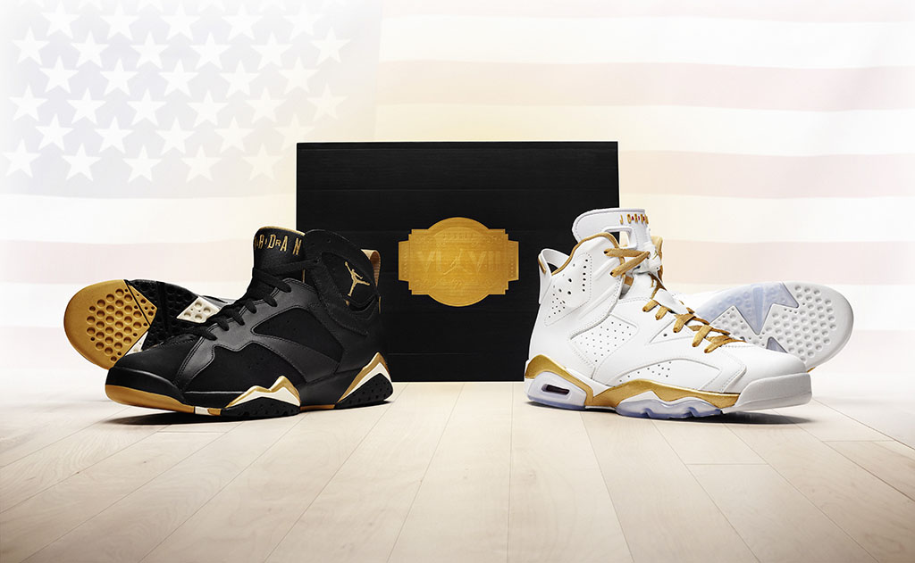 best loved 4e281 84e4c Air Jordan Golden Moments Pack Official VI 6   VII 7 ...