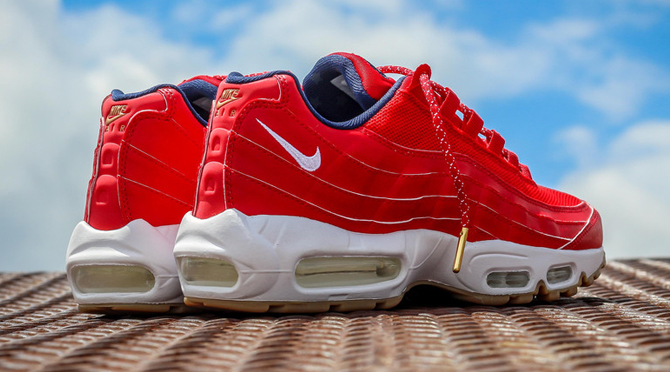 Celebrate the 4th of July Early With These Nike Air Max 95s