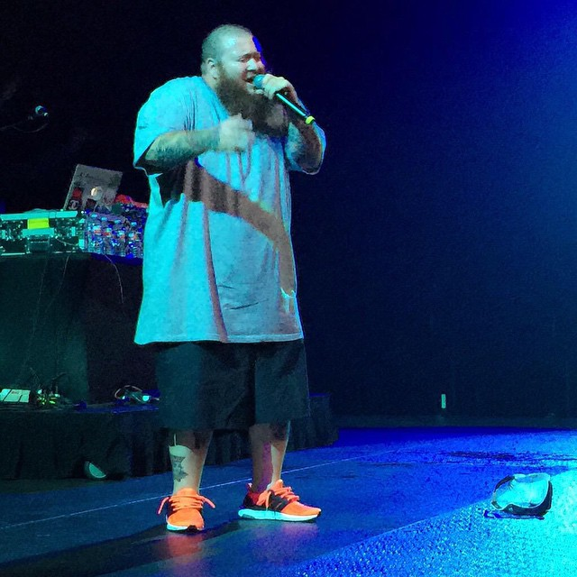 low priced 9e576 ad093 Action Bronson wearing the