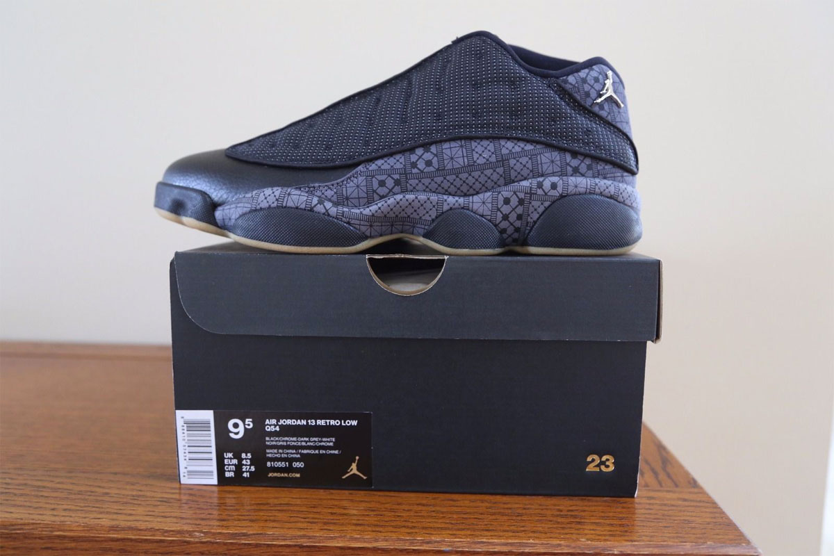 quality design c94f1 fb6af Air Jordan 13 Low (Quai 54)