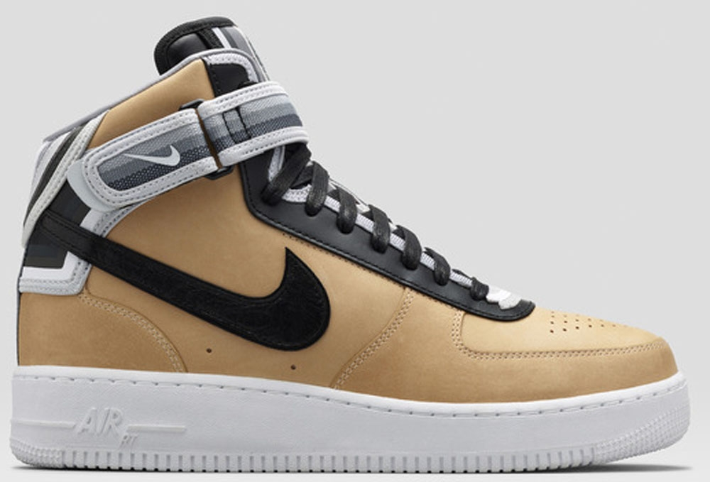 Nike Air Force 1 Mid Supreme RT Vachetta Tan/Back