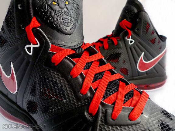 Nike LeBron 8 P.S. - Black Sport Red-White - New Images  b31200e85