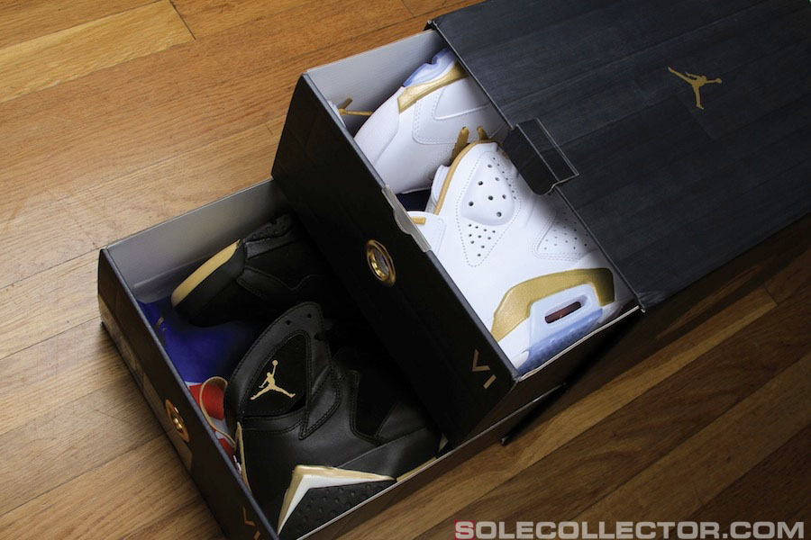 Jordan Gold Edition