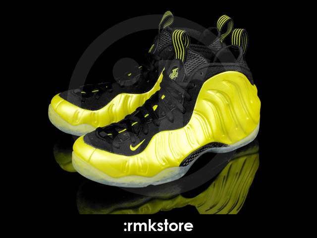Nike Air Foamposite One Electrolime Golden State 314996-330 (2)