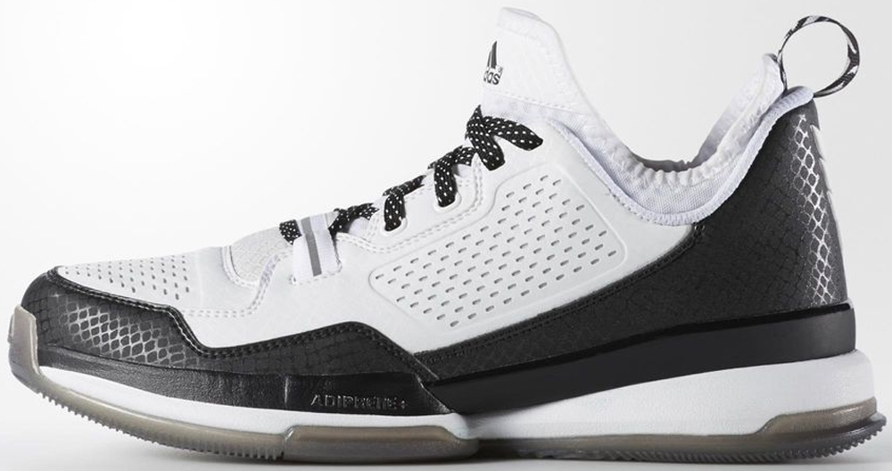 adidas D Lillard 1 Running White/Core Black