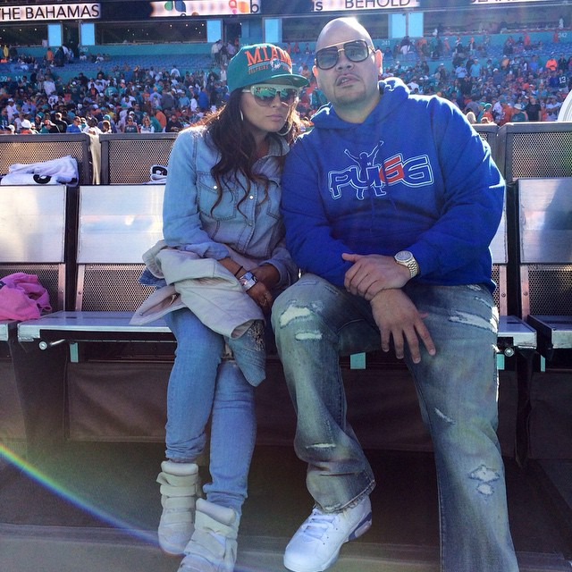 646deb9747fd71 Fat Joe wearing Air Jordan VI 6 Sport Blue