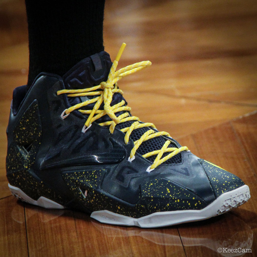 9ad5ea657d2a Sole Watch  Up Close At Barclays for Nets vs Grizzlies