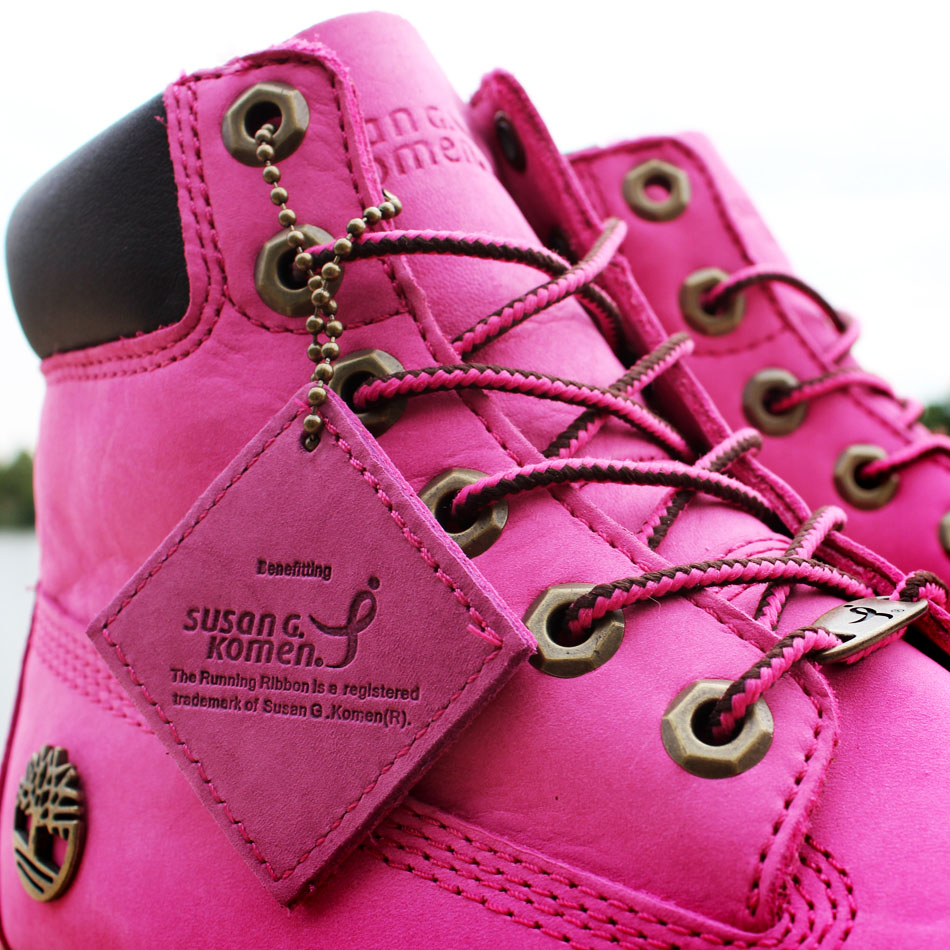 Susan G. Komen x Timberland Breast Cancer Awareness Pink Boot (2)