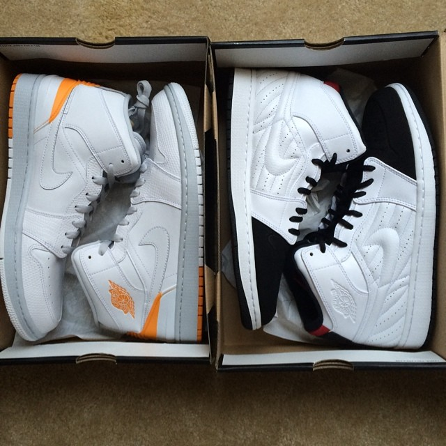Gio Gonzalez Picks Up Air Jordan I 1 86 Kumquat; Air Jordan I 1 99 Black Toe