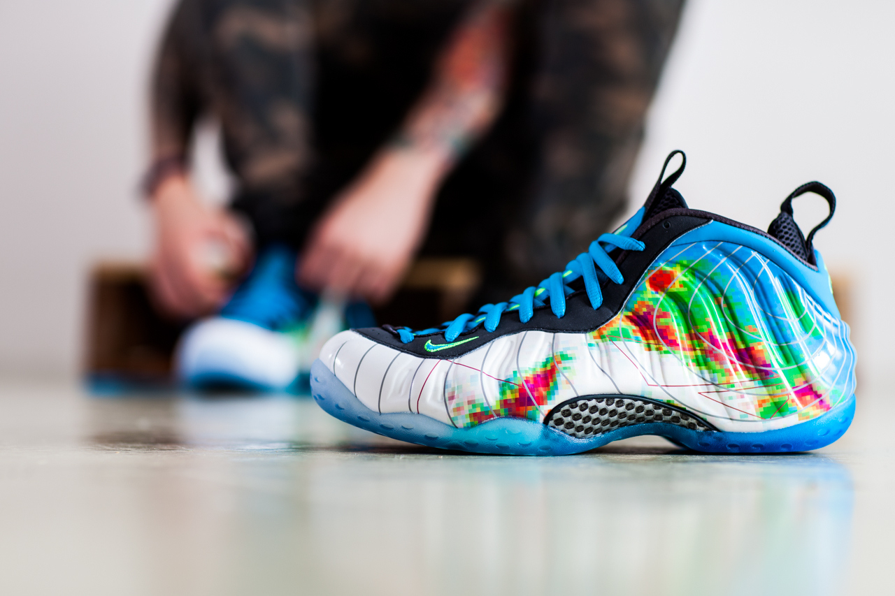 newest 64171 c3687 Nike Air Foamposite One PRM - Weatherman - Detailed Look