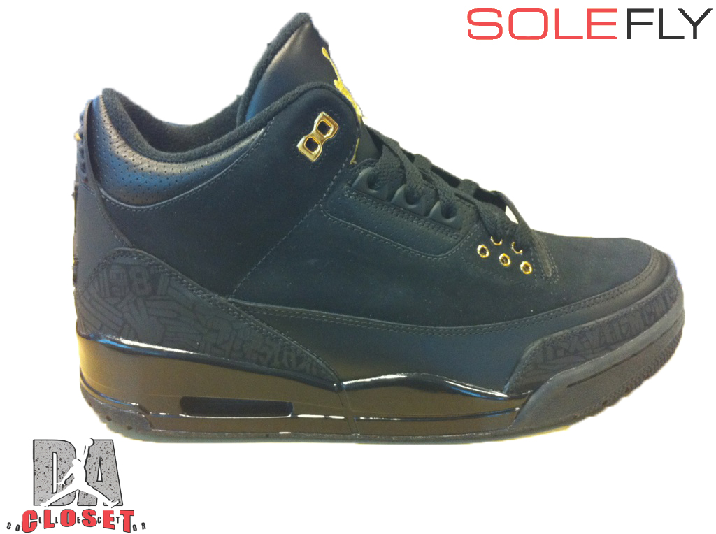 Air Jordan Retro 3 Black History Month