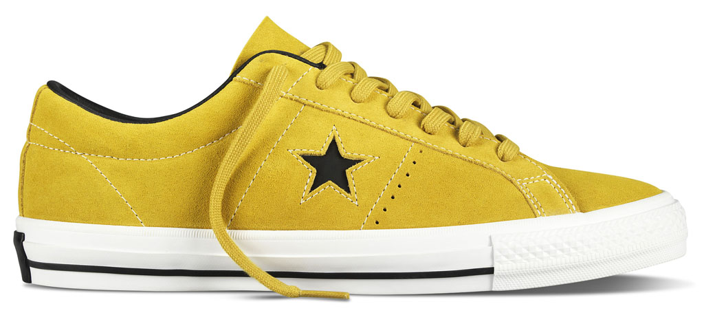 Converse Cons One Star Pro Vintage Suede Release Date Yellow Bird