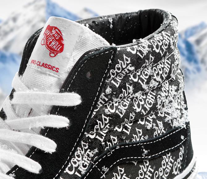 Vans Coors Light Sneakers Detail