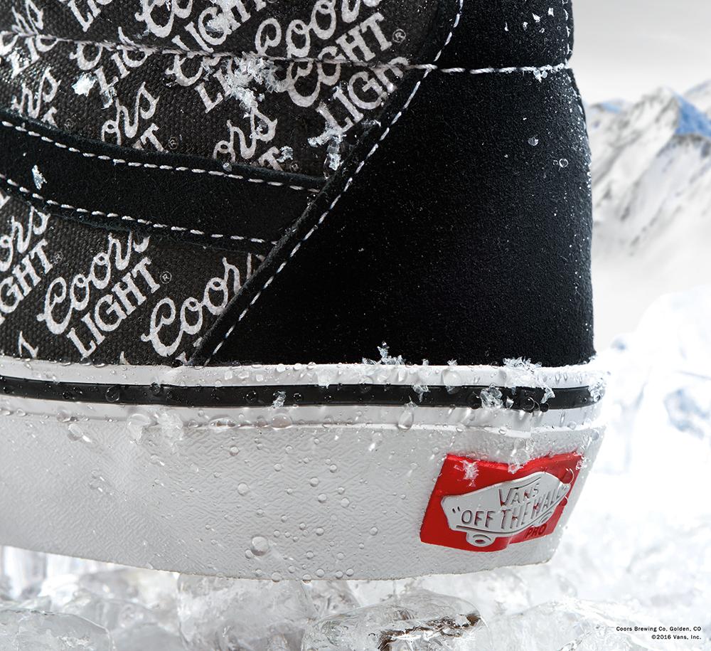 Vans Coors Light Sneaker Heel
