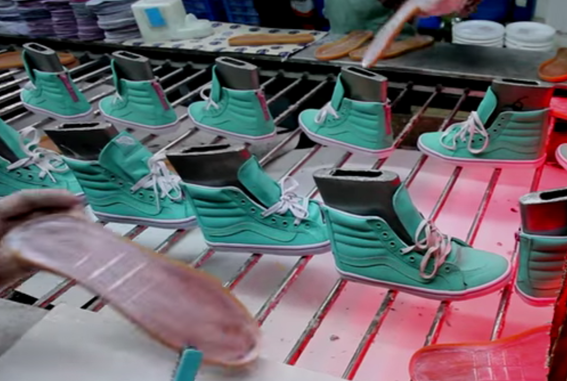 vans factory