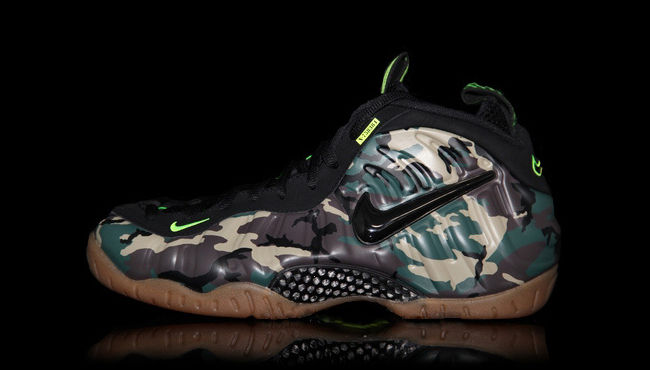 quality design 05bd3 01854 Nike Air Foamposite Pro Army Camo 587547-300 Release Date (1)