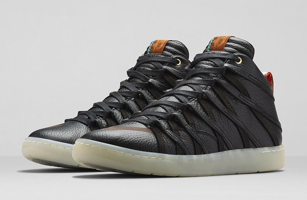 black kevin durant shoes