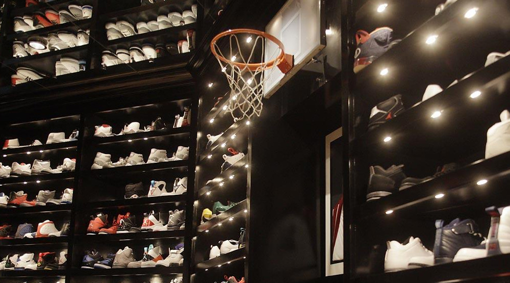 more photos 7a2b0 0c0f2 ... Celebrity Sneaker Closets  Remodeling my shoe room ...