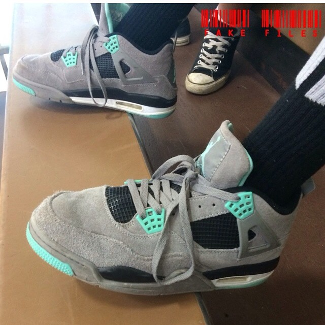 403e7ad7b194 Busted  20 People Caught Wearing Fake Air Jordan 4s