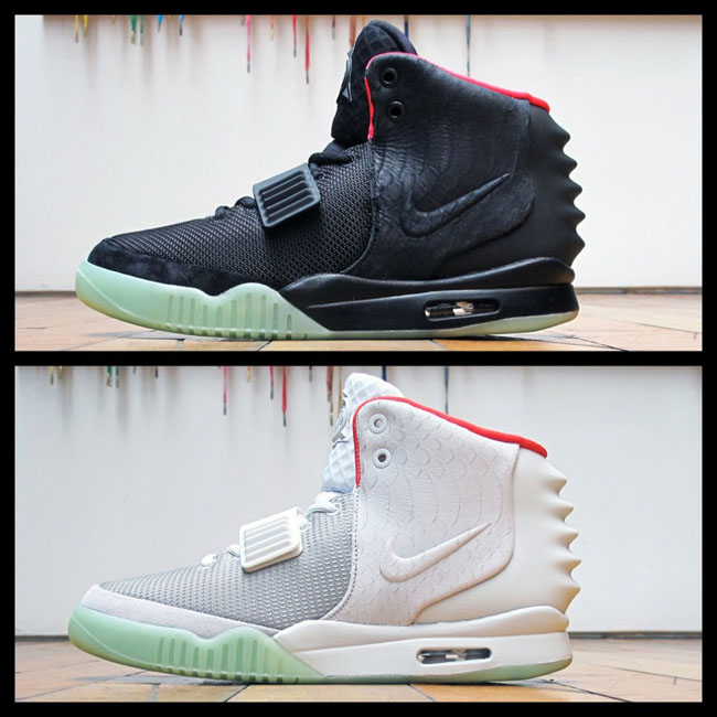 competitive price 82a47 9c7c0 In honor of the Yeezus tour which kicks off this weekend, take a look back  at each version of the Air Yeezy 2.