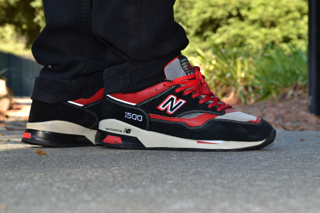 BIGDJ in a 'Propaganda Pack' New Balance 1500 Sample