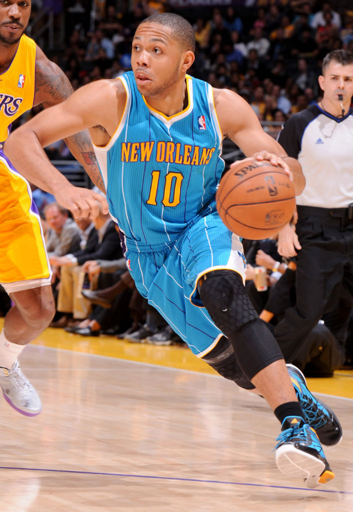Eric Gordon wearing adidas Crazy Fast PE