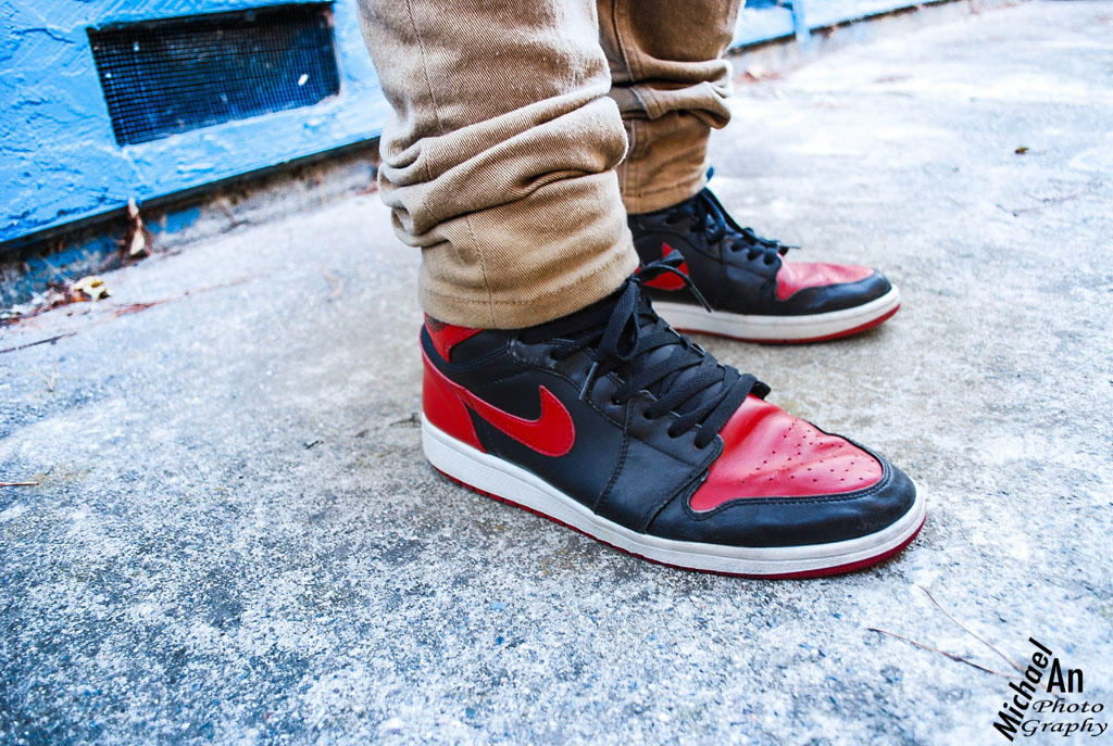 Spotlight // Forum Staff Weekly WDYWT? - 11.4.13 - Air Jordan 1 I Retro Black/Red by ilikesbs