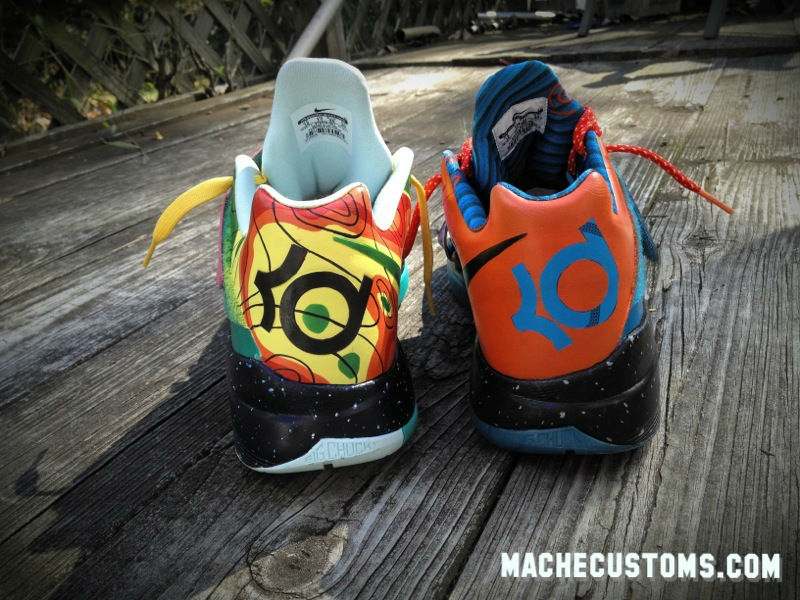 "Mache's ""What the KD?"" Custom Nike KD IV Up for Auction (2)"