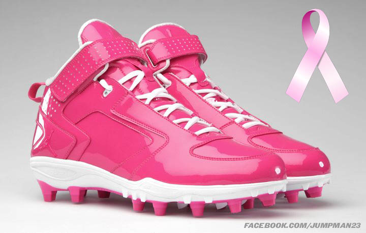 Jordan Brand Breast Cancer Awareness Month Football Cleats