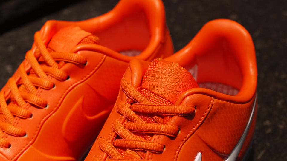 03f5c4c4360 ... LOW Nike Air Force 1 Foamposite Pro QS - Safety Orange - New Images ...