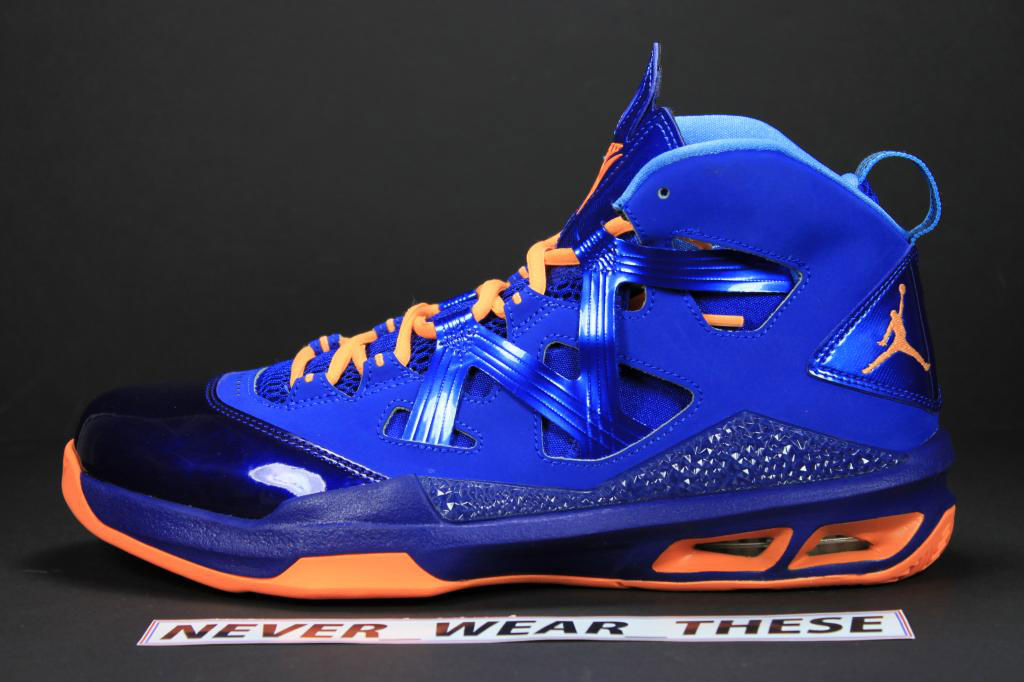 cheap for discount f1721 ae7fe Jordan Melo M9 - NYC Alternate Sample | Sole Collector