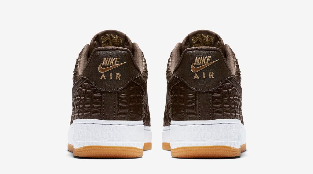 Croc Skin Covers the Nike Air Force 1   Sole Collector