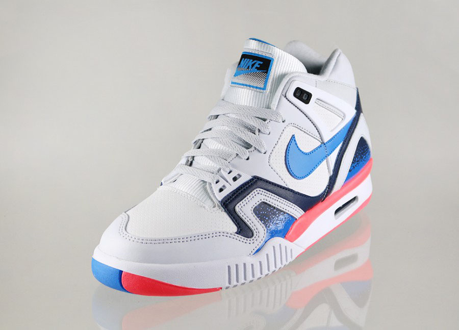 Nike Air Tech Challenge II White Photo Blue-Pure Platinum-Metallic Navy ( 9014a62fda