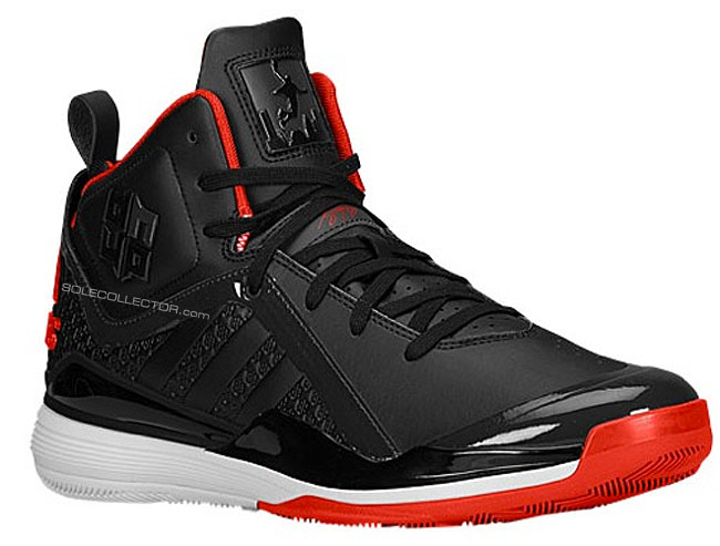 adidas D Howard 5 Black/Red-White
