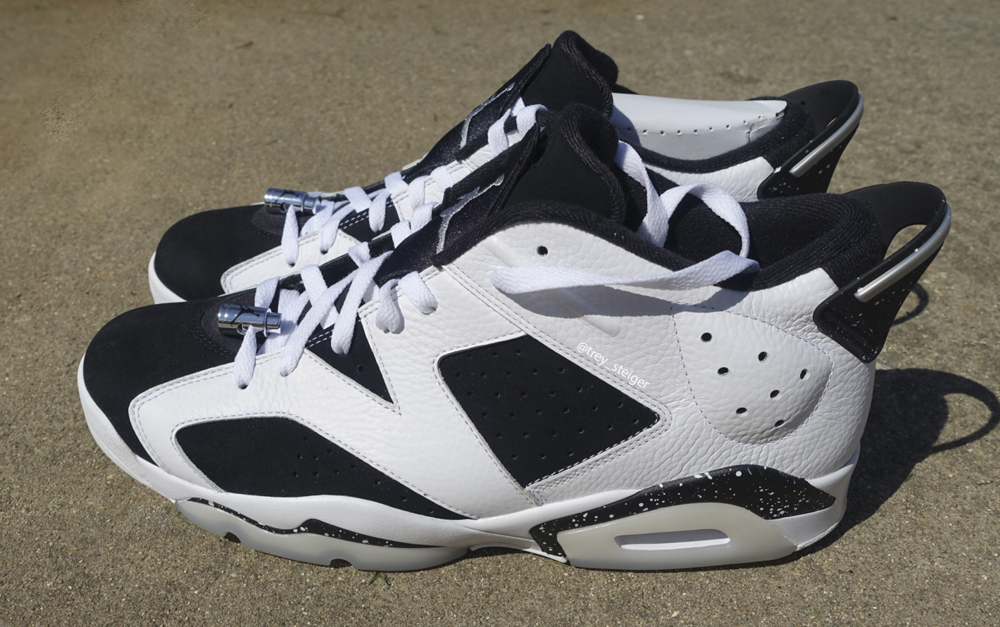 6b2df0299c73 Your Best Look Yet at the  Oreo  Air Jordan 6 Low