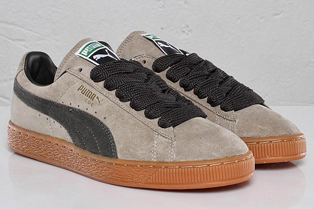 inexpensive Puma Suede classic eco W (Black) Trainers
