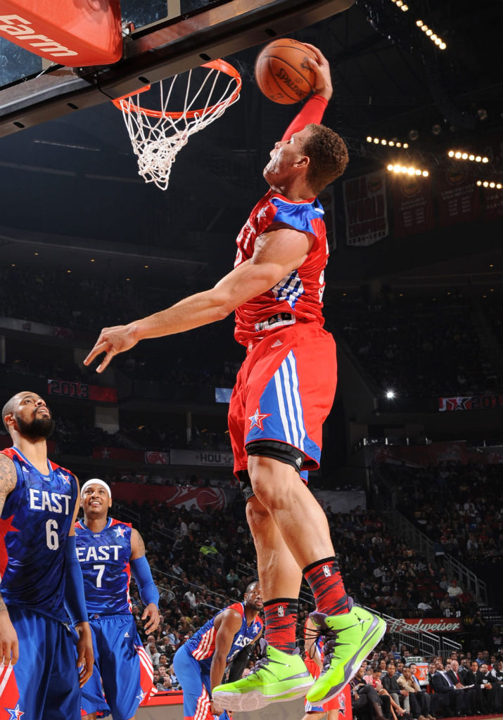 Blake Griffin wearing Jordan Super.Fly 2