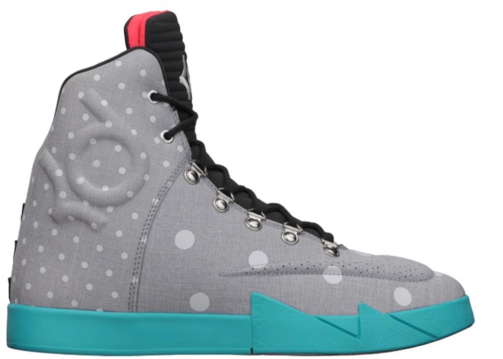 Nike KD VI NSW Lifestyle LE QS \u0026#39;Birthday\u0026#39; 621177-001 Light Grey/Anthracite-White