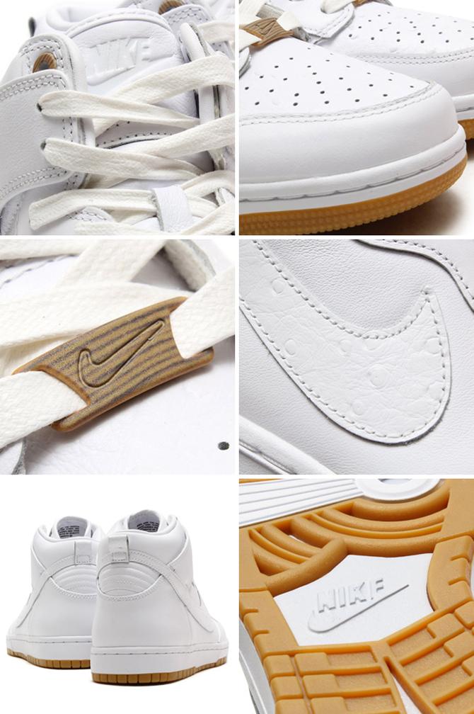 dfbcf4778c64 Nike Dunk High CMFT PRM QS Color  White White Style    716714-101