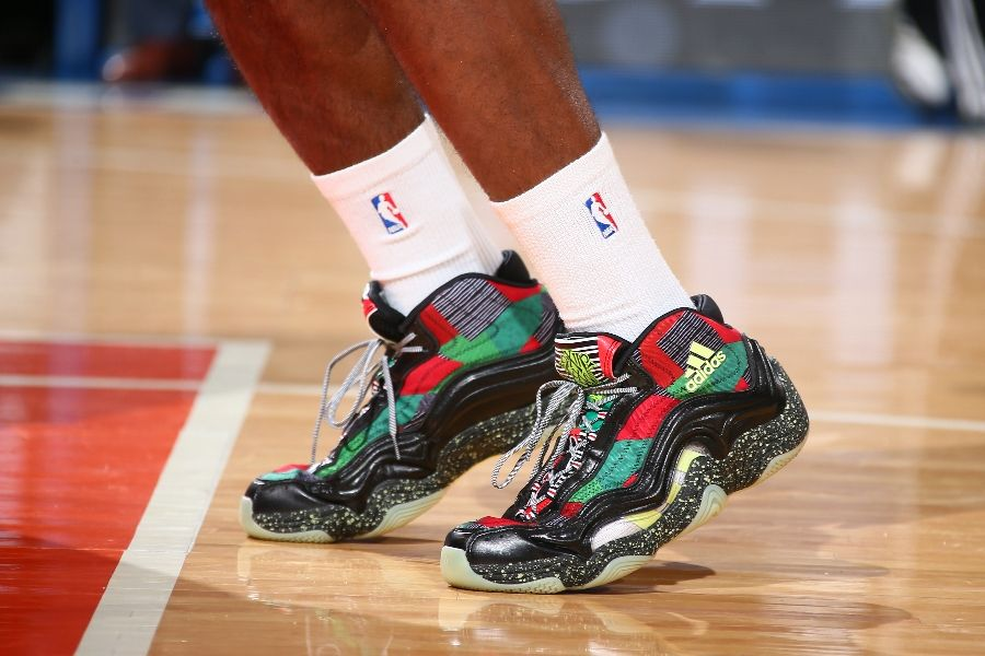 SoleWatch  The Best Sneakers Worn on Christmas Day  801383a2932a