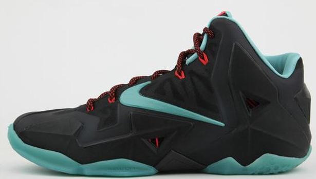 Nike LeBron 11 Black/Diffused Jade-Light Crimson-Jade Glaze