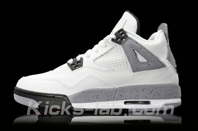 Air Jordan 4 IV White Cement 408452-103