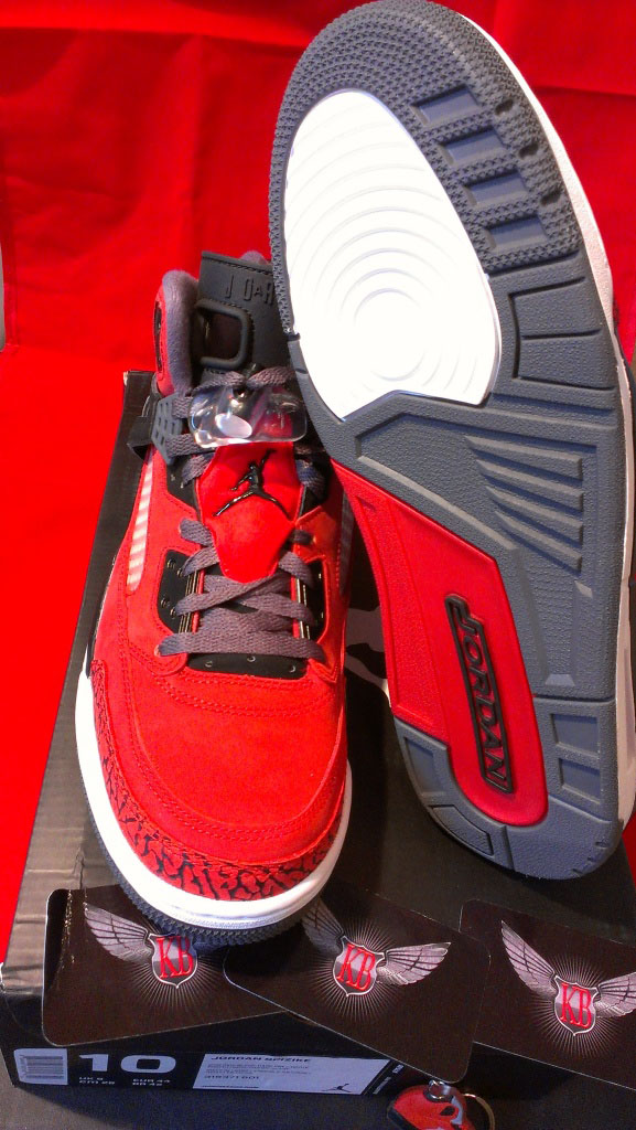 release date 51eb7 ec3d6 Jordan Spiz ike Gym Red Black Dark Grey White 315371-601 (4)