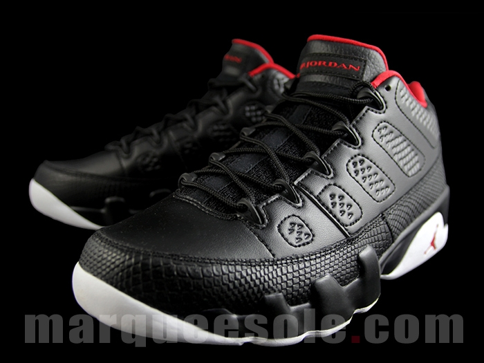 ba49b1458aabf8 Air Jordan 9 Low Release Date  04 16 16. Color  Black White-Gym Red Style     832822-001. Price   170