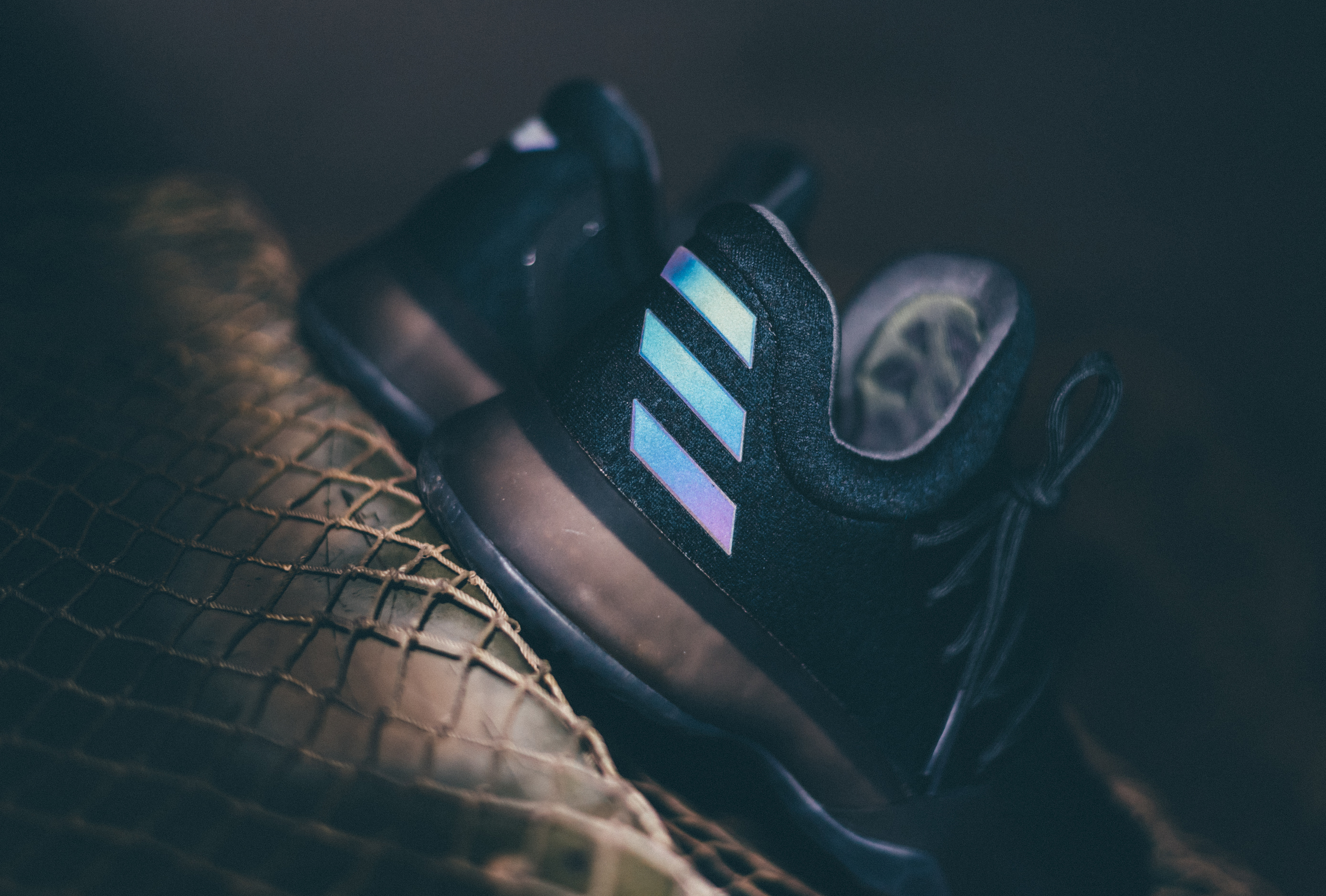 classic fit 325e5 ecd88 Image via Adidas Adidas Harden Vol 1 Triple Black Dark Ops Xeno 4