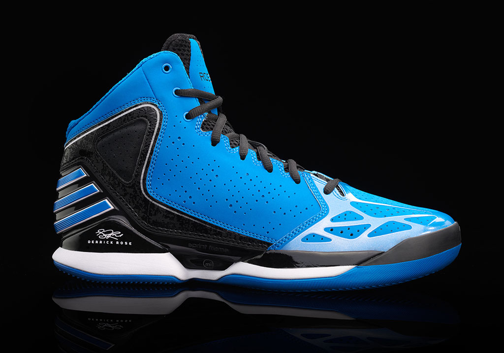 adidas Rose 773 Bright Blue Black White (1)